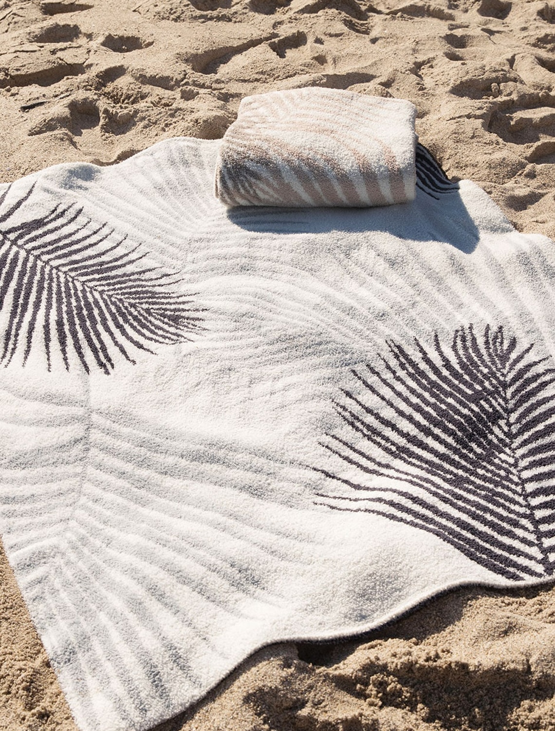 BDHCC1569 PALM TREE LEAF BLANKET