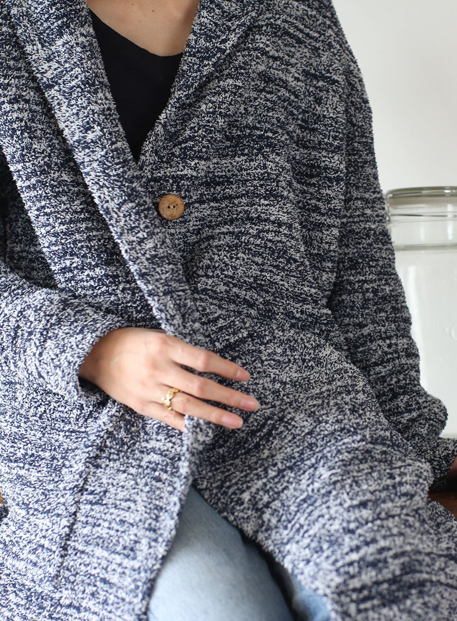 Women's Hooded Long Cardigan C668