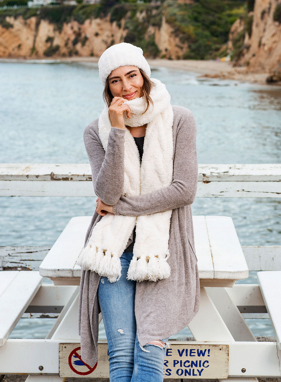 BDWCC1204 Cable Scarf