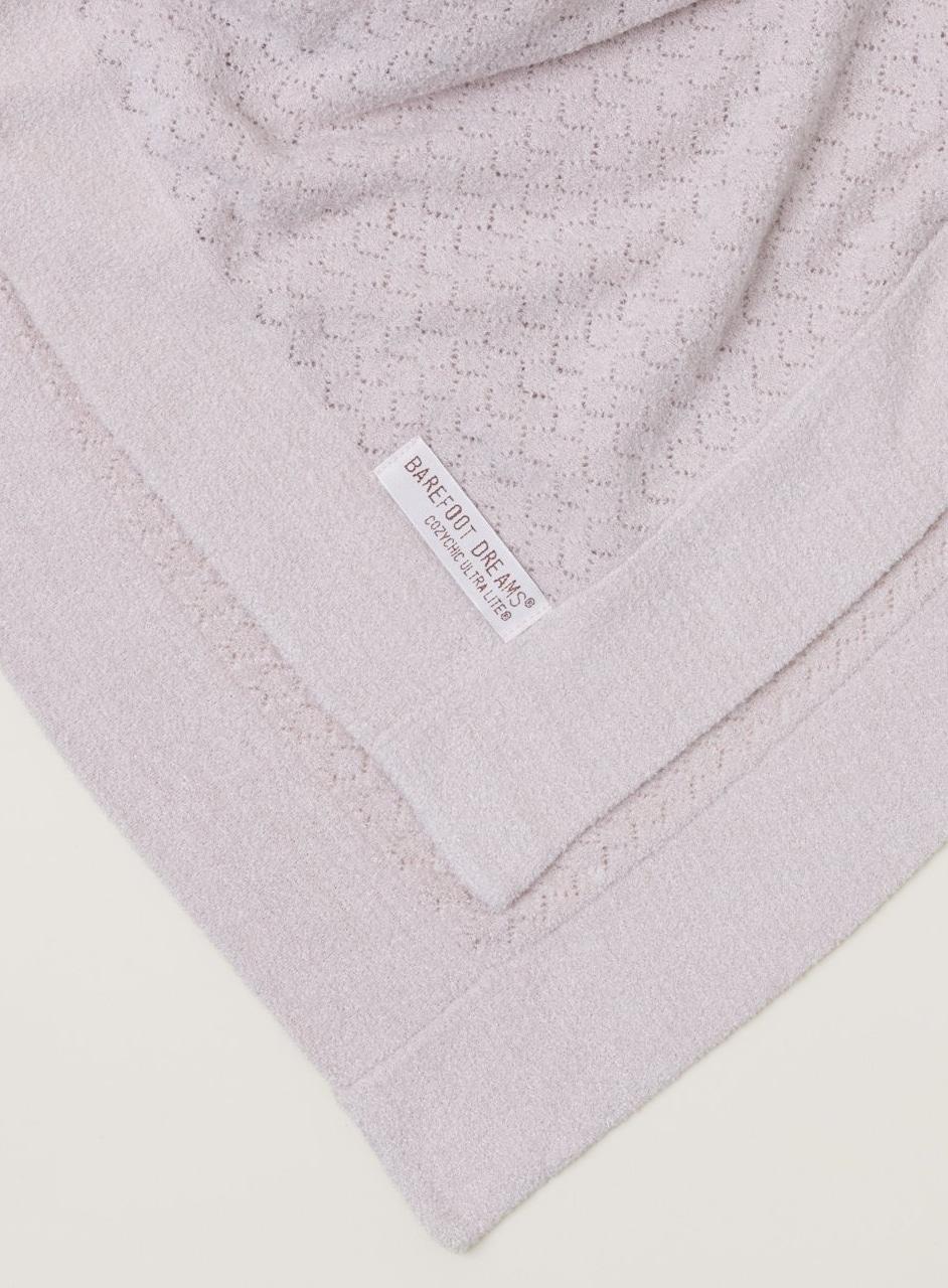 919 CC Ultra Lite Pointelle Baby Blanket