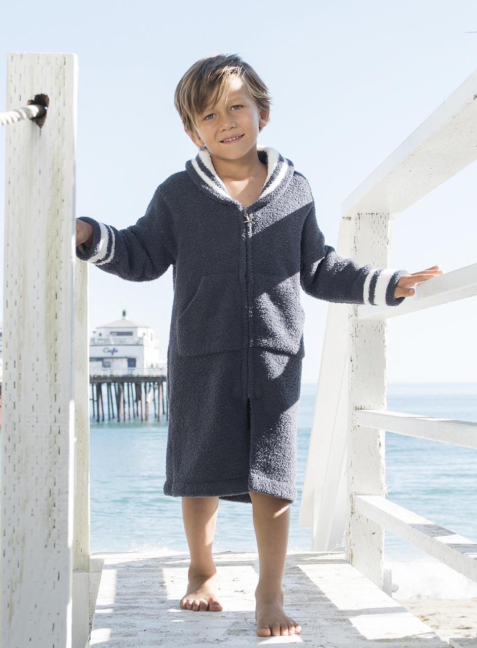 831 CC Kids Zip Up Starfish Robe