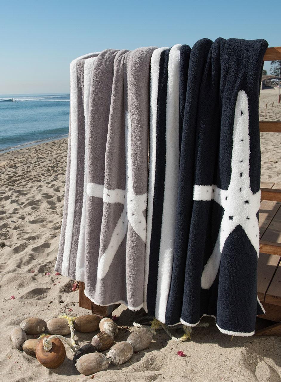 829 CC Starfish Blanket 45*60