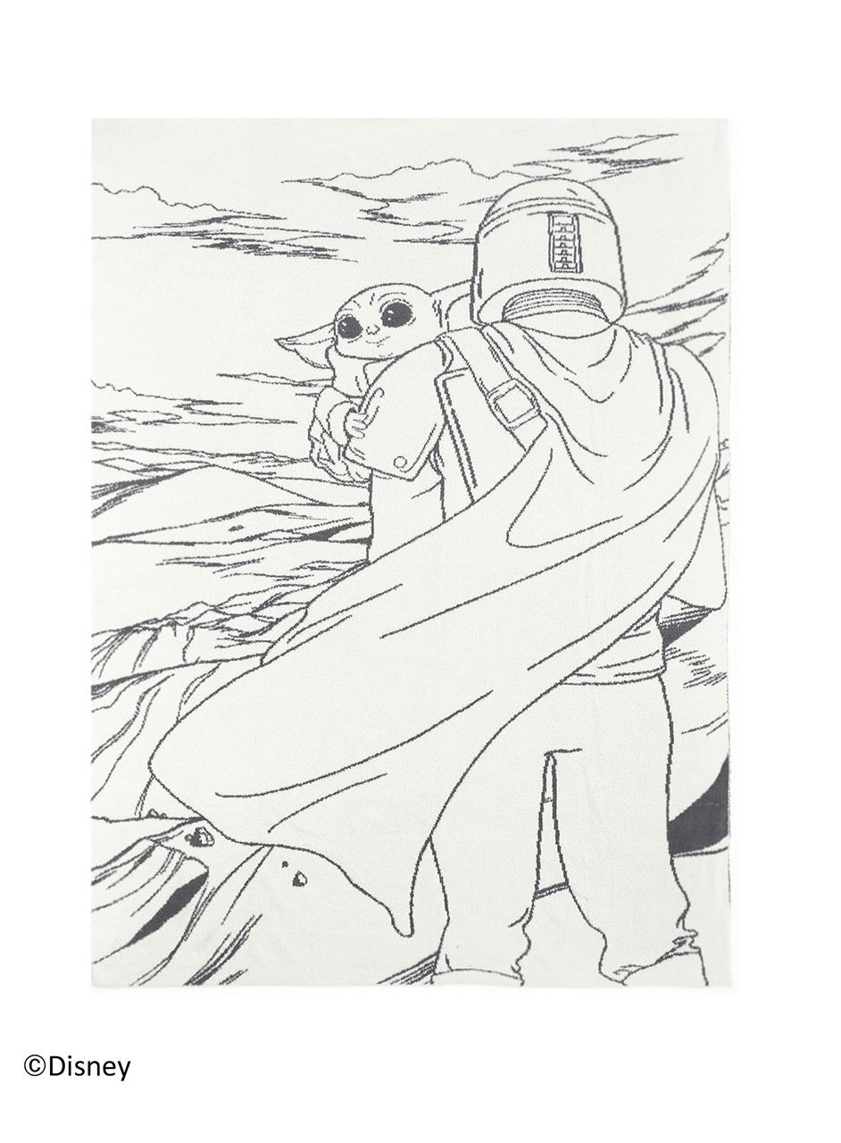 DNHCC1990 CC The Mandalorian Throw
